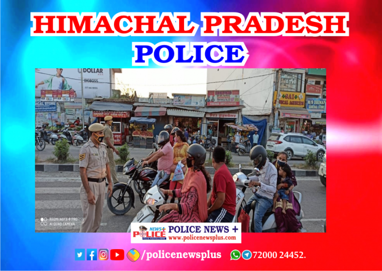 Superintendent of Police Una Dr. Karthikeyan Gokulachandran, IPS told traffic personal to give awareness