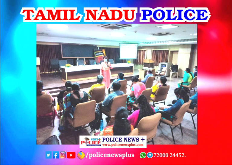 Additional Director General of Police (Headquarters), led the 2nd day training to the Child Welfare Police officers in Greater Chennai