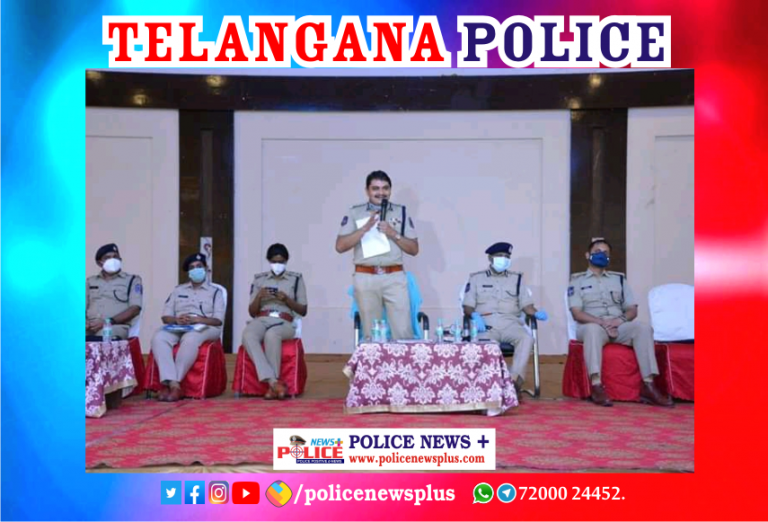 Mr. Mahesh Bhagwat IPS CP Rachakonda addressed the recruit Police Constable Officers as they were going to join duty