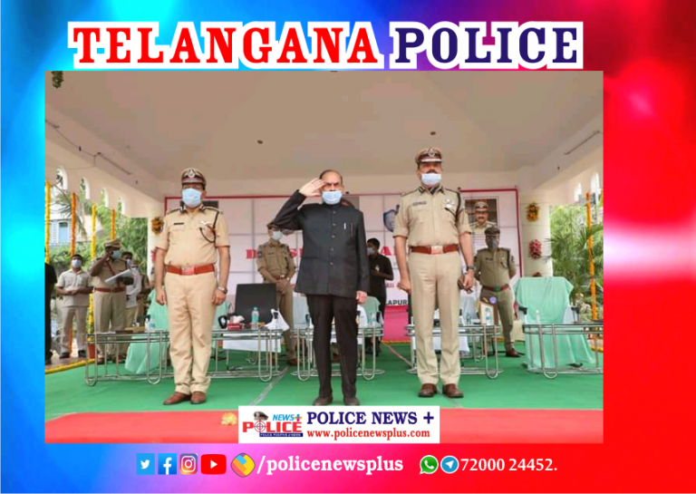 Telangana police is number one in the country: Home Minister