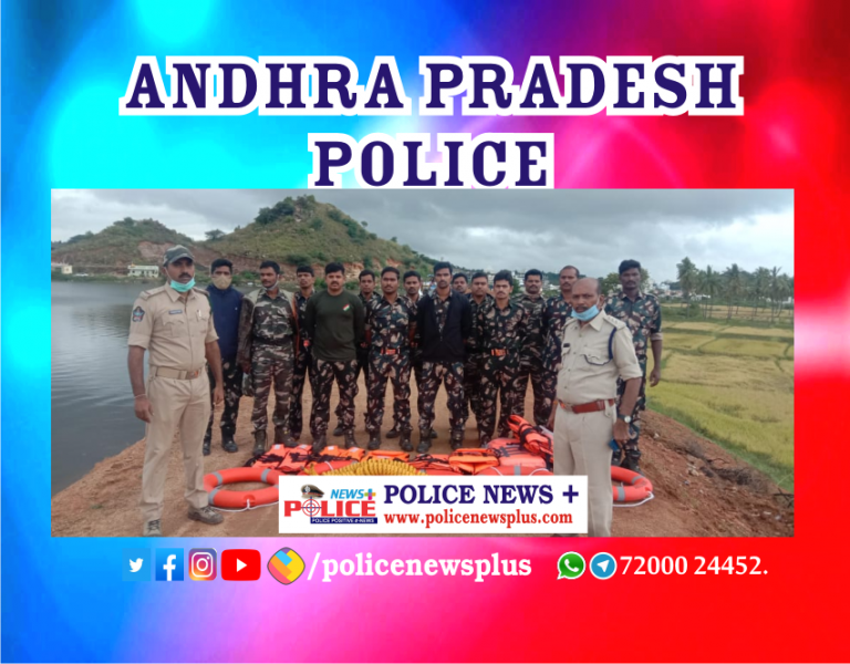 Water Disaster averted by Anantapur Police