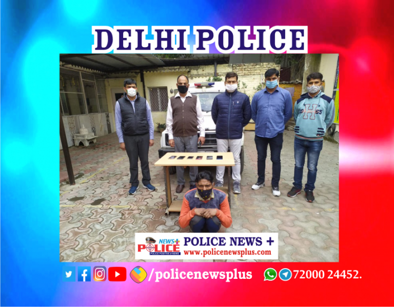 Delhi Police arrested accused involved in theft