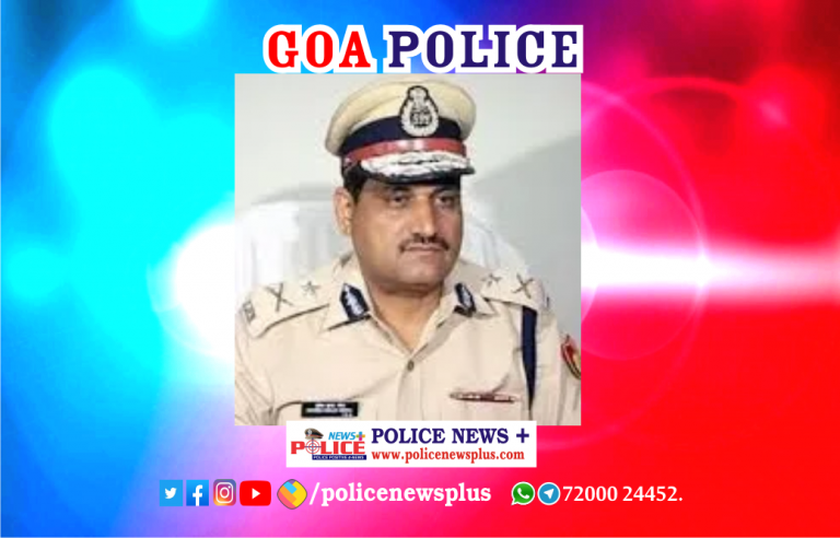 Director General of Police, Goa conducted meeting with staff at Dona Paula