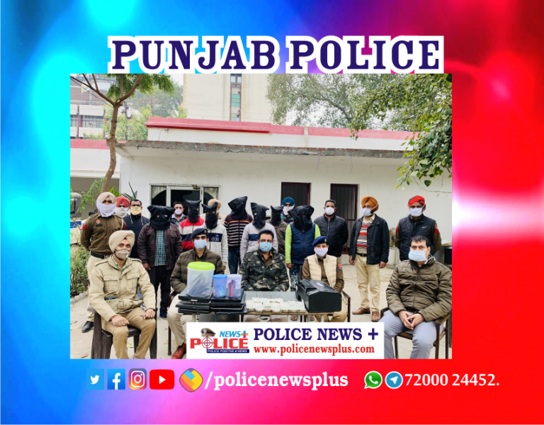 Inter-State Cyber-crime gang arrested by Ludhiana Police