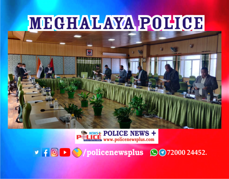 Meghalaya Senior Police Officers celebrated Constitution of India Day