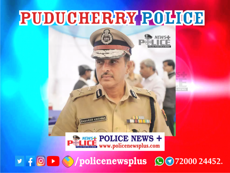 New DGP appointed for Puducherry
