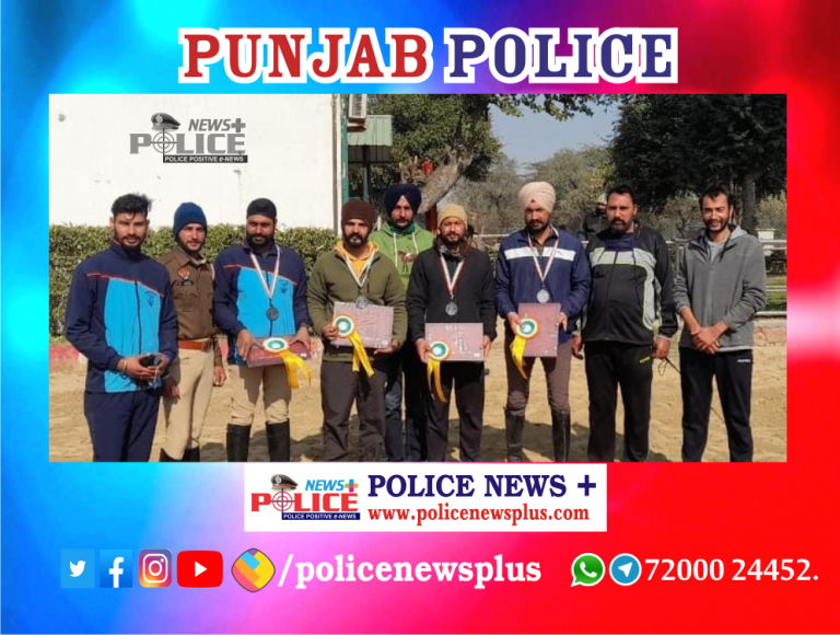 Punjab Police secured a bronze medal
