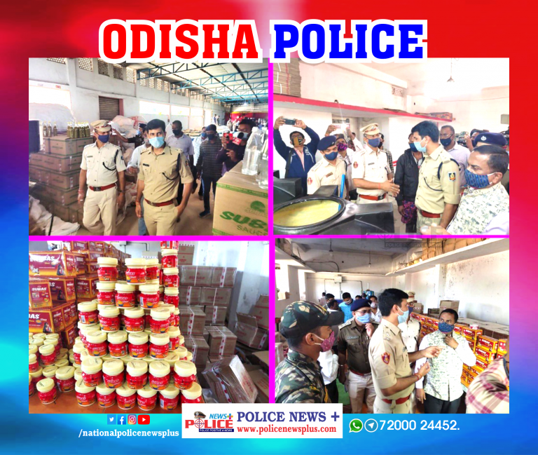 Cuttack city Police seized 1 Crore worth of Sweets