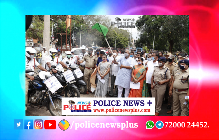 Road Safety Week launched by Mr. Suresh Kumar, Minister of Education