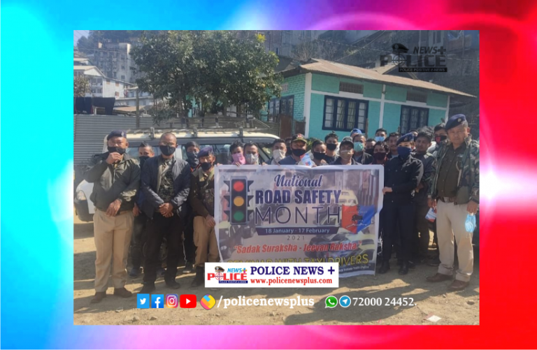 Kohima Traffic Police conducted Road safety Awareness