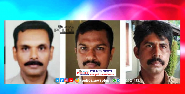 Kozhikode Police rescued life of persons from drowning in a river