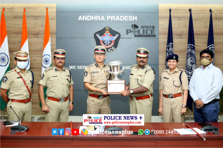 Andhra Pradesh Police awarded National Awards by 3 National Organizations
