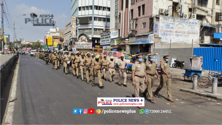 Greater Chennai Police conducts Election Activity – 2021