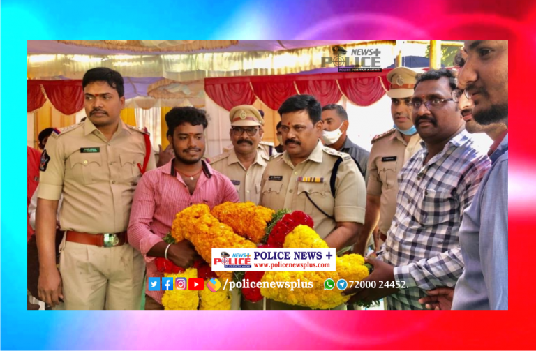 SP Mr. M Rabindranath Babu IPS laid foundation stone for new building