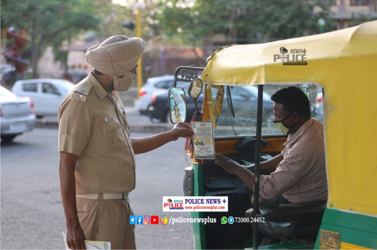 Chandigarh Traffic Police conducted awareness drive