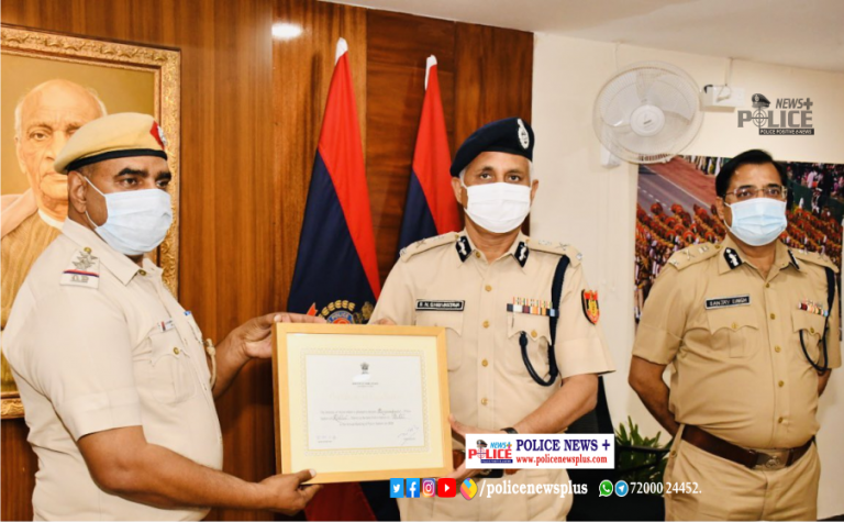 Begumpur Police Station has been declared the Best Police Station of Delhi