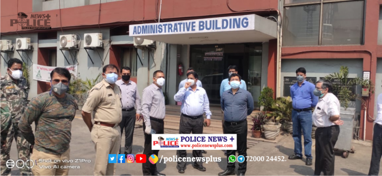 Jharkhand Senior police officers visited Inox Air Products