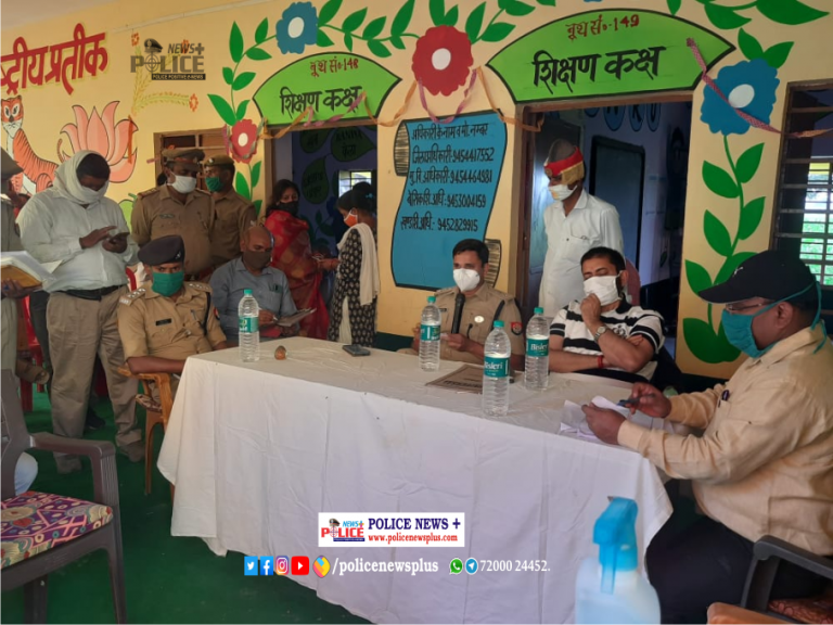 Fatehgarh Police conducted meeting with the people concerning Panchayat Elections
