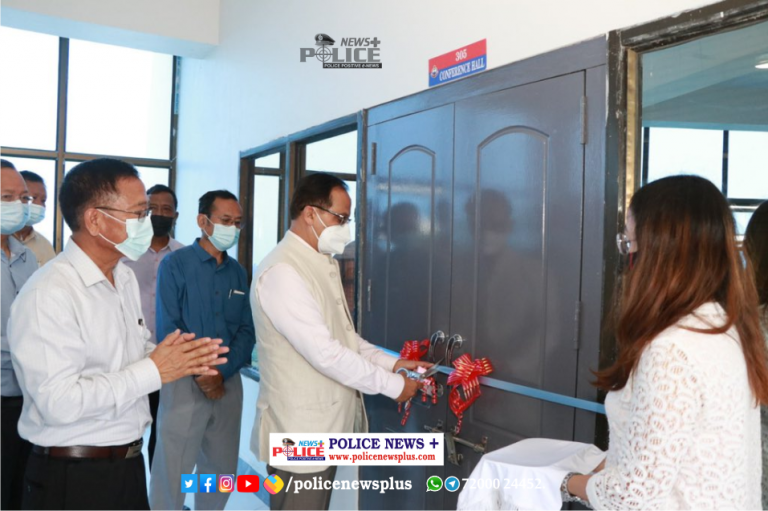 First conference hall of the police department inaugurated by Chief Minister Mr. Zoramthanga