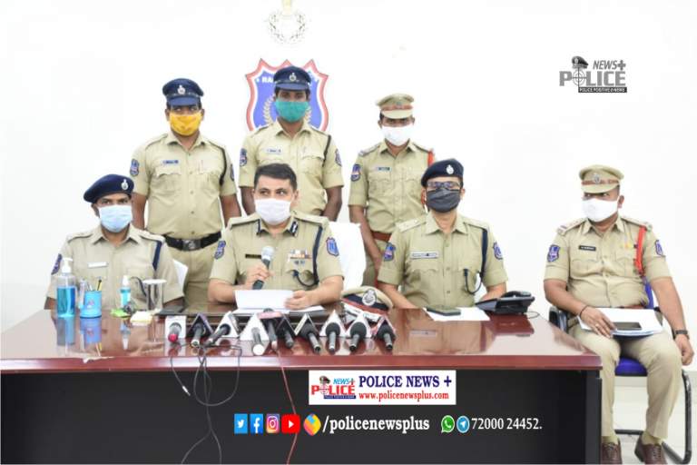 Hayathangar Police, Rachakonda arrested three persons in cheating and criminal breach of trust case
