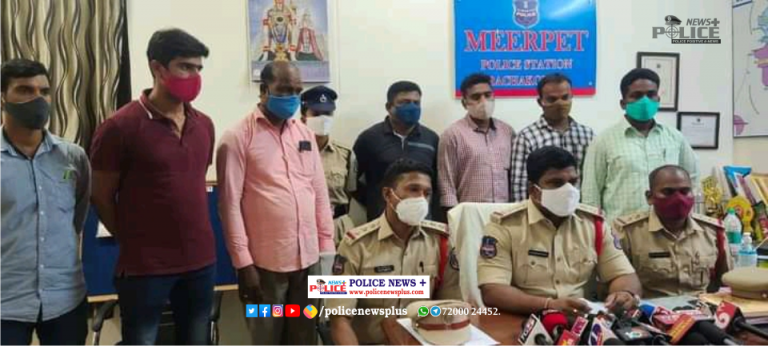 Rachakonda Police arrested 2 notorious offenders involved in robbery and attempt murder in record time