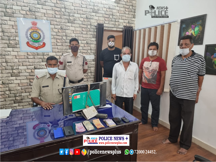 Raigarh Police take stringent action on IPL betting- SP Mr. Santosh Singh IPS
