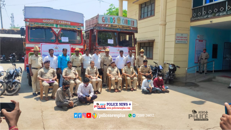 Vijayapur Police arrested persons involved in theft