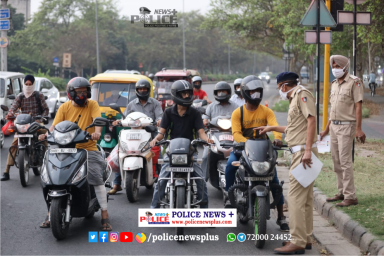 Chandigarh traffic Police conducted Road Safety Awareness