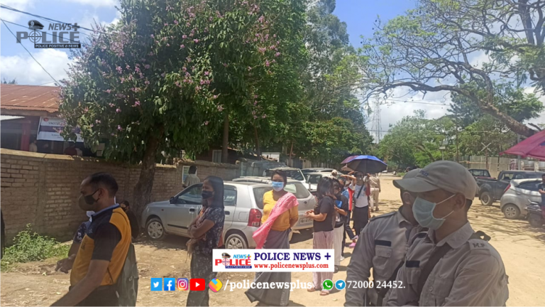 Manipur Police conducted awareness and assisted in COVID-19 vaccination drive