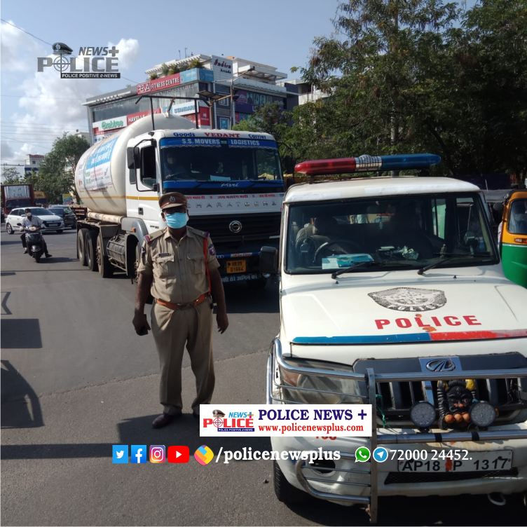 Odisha Police ensure prompt and unhindered supply of Liquid Medical Oxygen