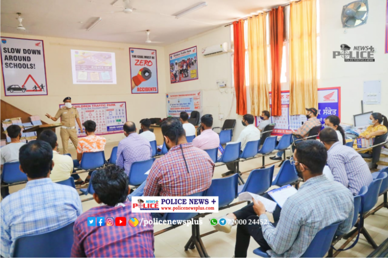 Chandigarh Traffic Police conducted Drivers Refresher Training Course