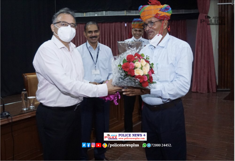 Farewell ceremony conducted for retiring Police Officers