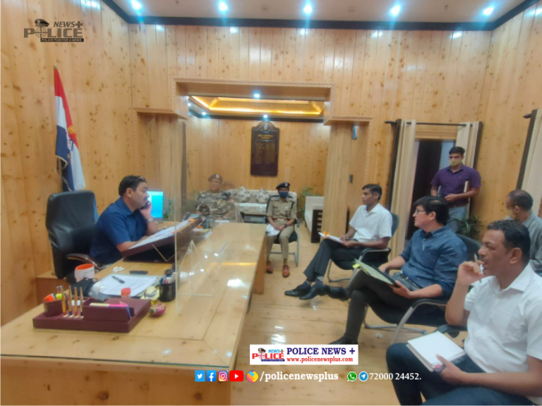 Mr. Ashok Kumar IPS, DGP held meeting and discussed various issues