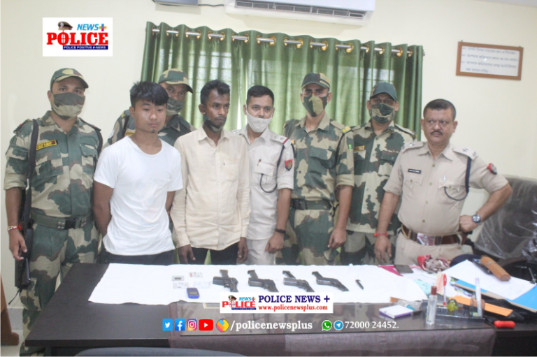 BSF and Assam Police busted an Arms syndicate