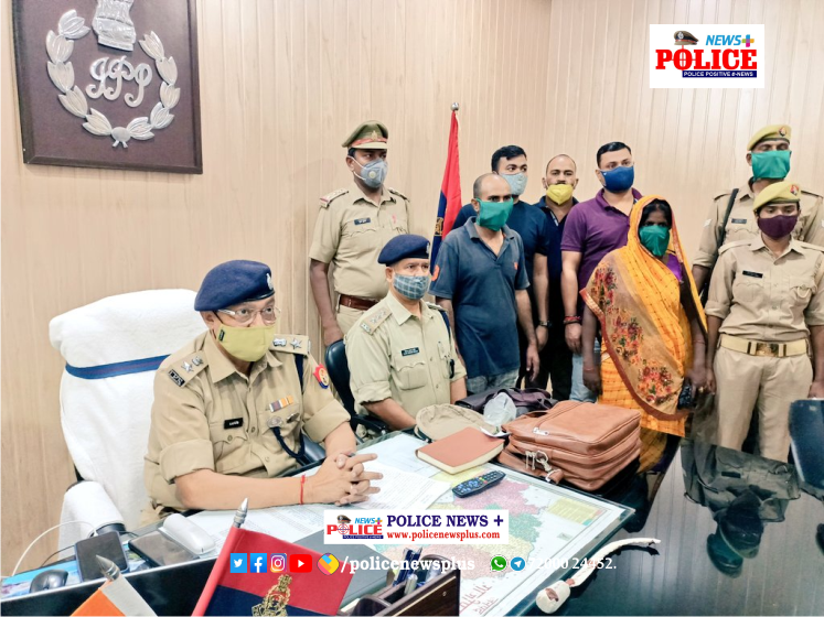 Murder accused arrested by Ghazipur Police