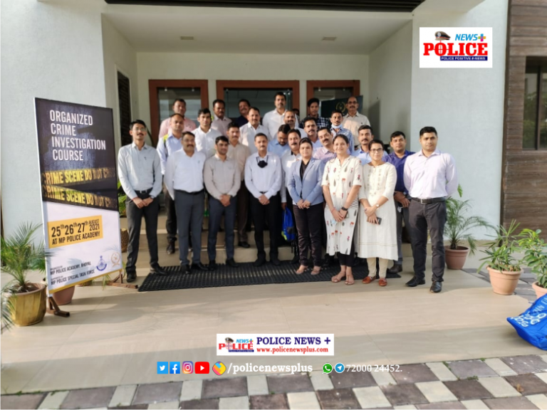 Police Officers Learn to Face the Challenges of Cyber and Organized Crime
