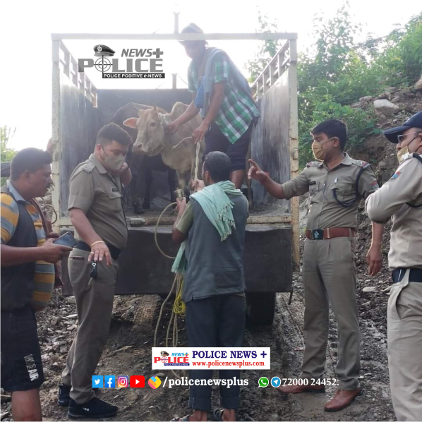 Pauri Traffic Police take safety measures to prevent accidents on roads