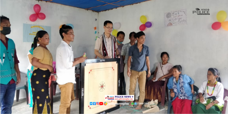 Jongphohate village: SP Changlang expressed his love to the villagers