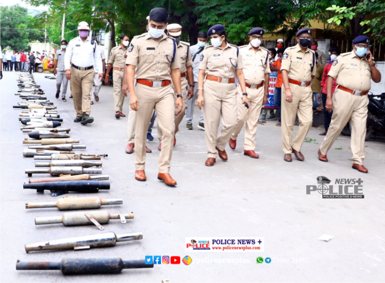 Tirupati Police created awareness on the woes of excessive noise pollution