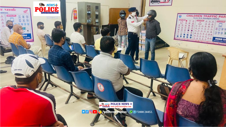 Chandigarh Traffic Police conducted a Drivers Refreshment Training Course