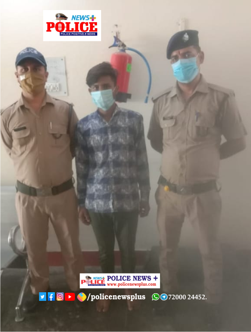 Uttarkashi police action against illegal smack smugglers, One accused arrested with illegal smack
