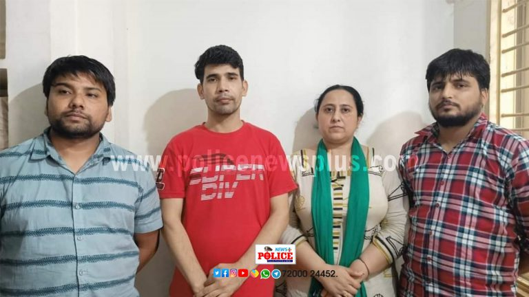 Rachakonda cybercrime police arrested 04 for cheating the job seekers